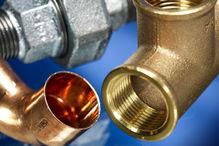 Installationssysteme Temperguss, INOX, Kunststoff, Kupfer, Rotguss