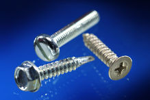 Metall-, Blech-, Bohr- und Fassadenschrauben, Gewindeformende und -furchende Schrauben