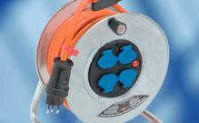 Steckbatterien, Kabelrollen, Kupplungen