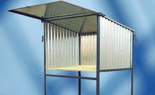 Material-Container, Planhaus, Bautüren