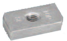 Hammerkopf-Gewindeplatten Typ 35/20 A2
