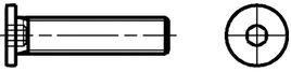 Zylinderschrauben mit Innensechskant 10.9