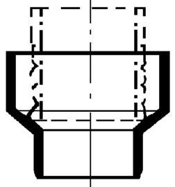 PVC-Kanal Übergangsstücke