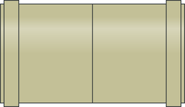 PP-HM Kanal-Doppelmuffen