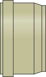 PP-HM Kanal-Einzelsteckmuffen