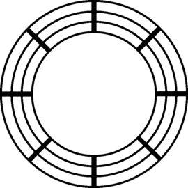 HD-PE-Kabelschutz-Riefenrohre