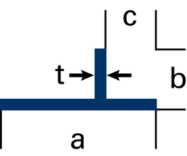 Spezial-T-Profile